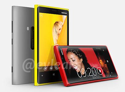 Nokia Lumia 920 Leaked image
