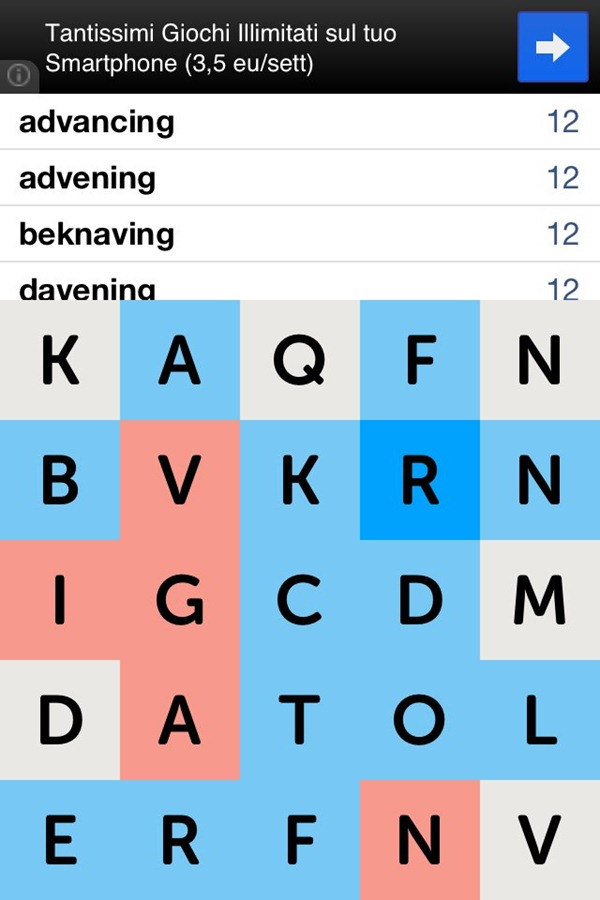 Easy LetterPress Cheats with LetterPress Cheater [Cydia App]