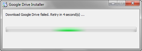 Download Google Drive failed. Retry in 5 second(s) …