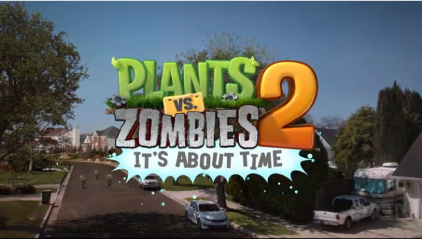 PopCap Plants vs. Zombies 2 Trailer Released, Game Releasing in July