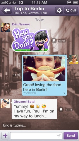 Viber 3.1 for iOS