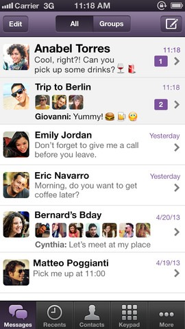 Viber 3.1 for iPhone