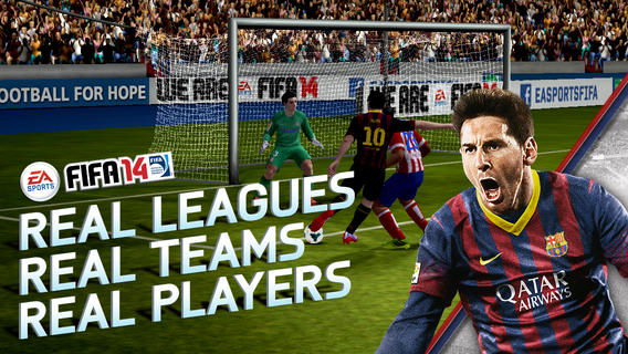EA Sports FIFA 14 for Android & iOS is Free with Premium Unlock option