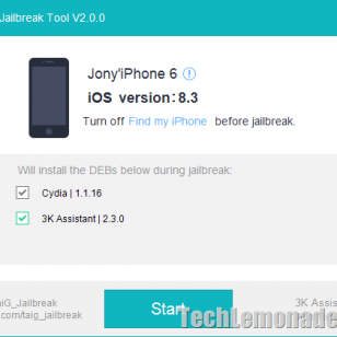 How to Use TaiG 2 to Jailbreak iOS 8.3 on iPhone / iPad Air