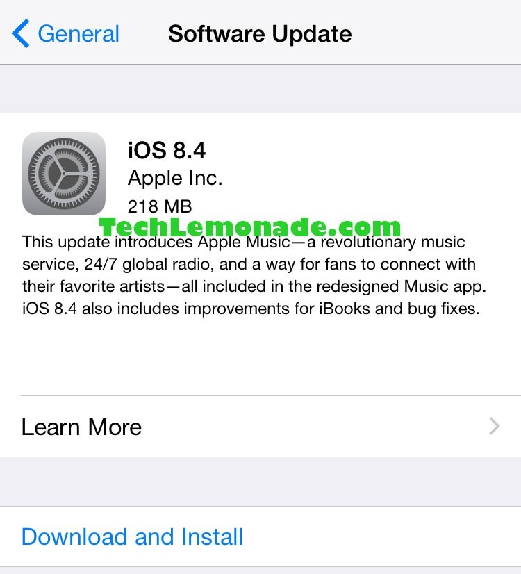 Download iOS 8.4 12H143 IPSW for iPhone, iPad & iPod Touch