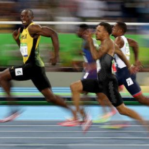 Usain Bolt 100 Meters Meme