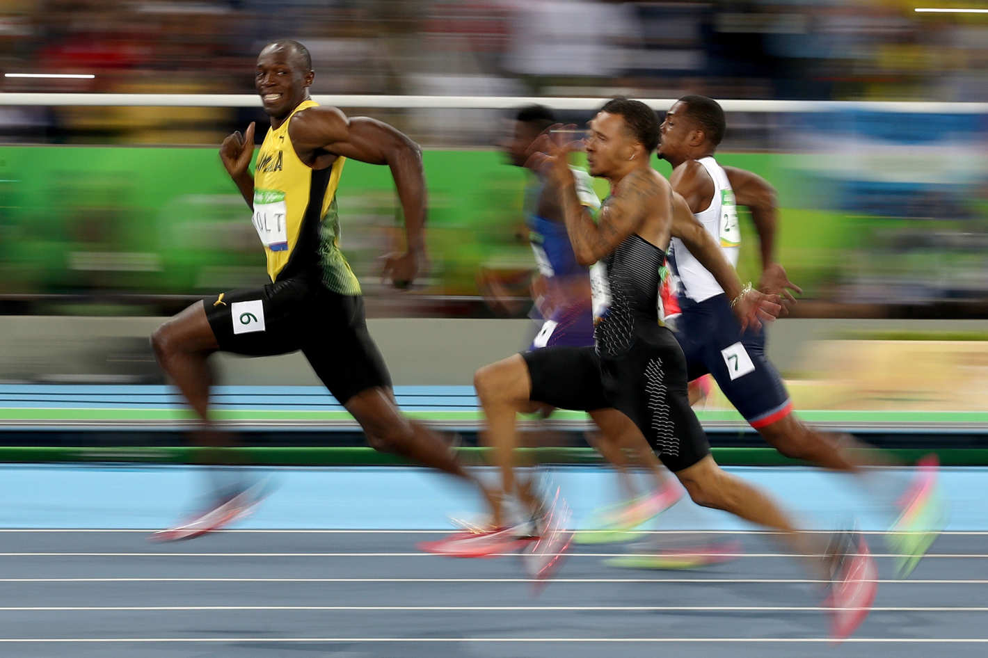 Usain Bolt 100 Meters Meme